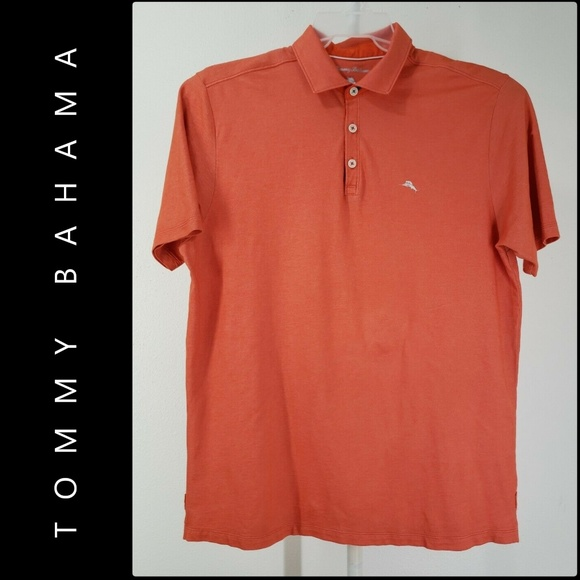 Tommy Bahama Other - Tommy Bahama Men Short Sleeve Polo Shirt Large